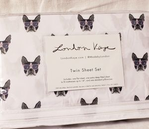 """New """"London Kaye"""" Twin Size Sheet Set"""